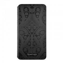 Etui Folio noir Christian Lacroix pour iPhone 7 ou iPhone 8