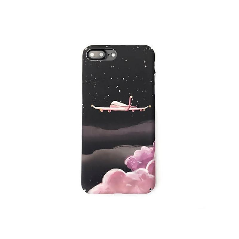 Coque rigide Soft Touch Avion