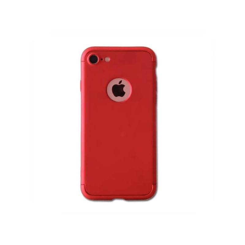 Coque de protection 360° Rouge pour iPhone 7 et iPhone 8
