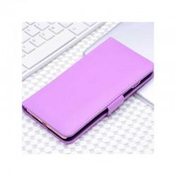 Etui portefeuille en simili cuir pour iPhone 7 ou iPhone 8 Violet